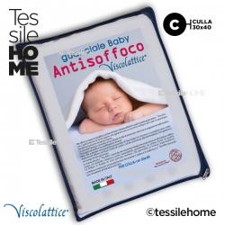 Guanciale Viscolattice® Memory - Baby Antisoffoco