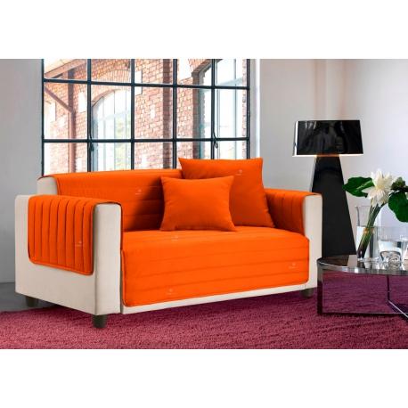 Copridivano salva divano bicolore trapuntato for Divano trapuntato